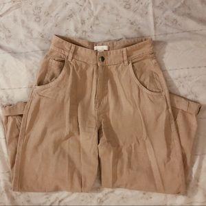 H&M Tan Cargo Pants